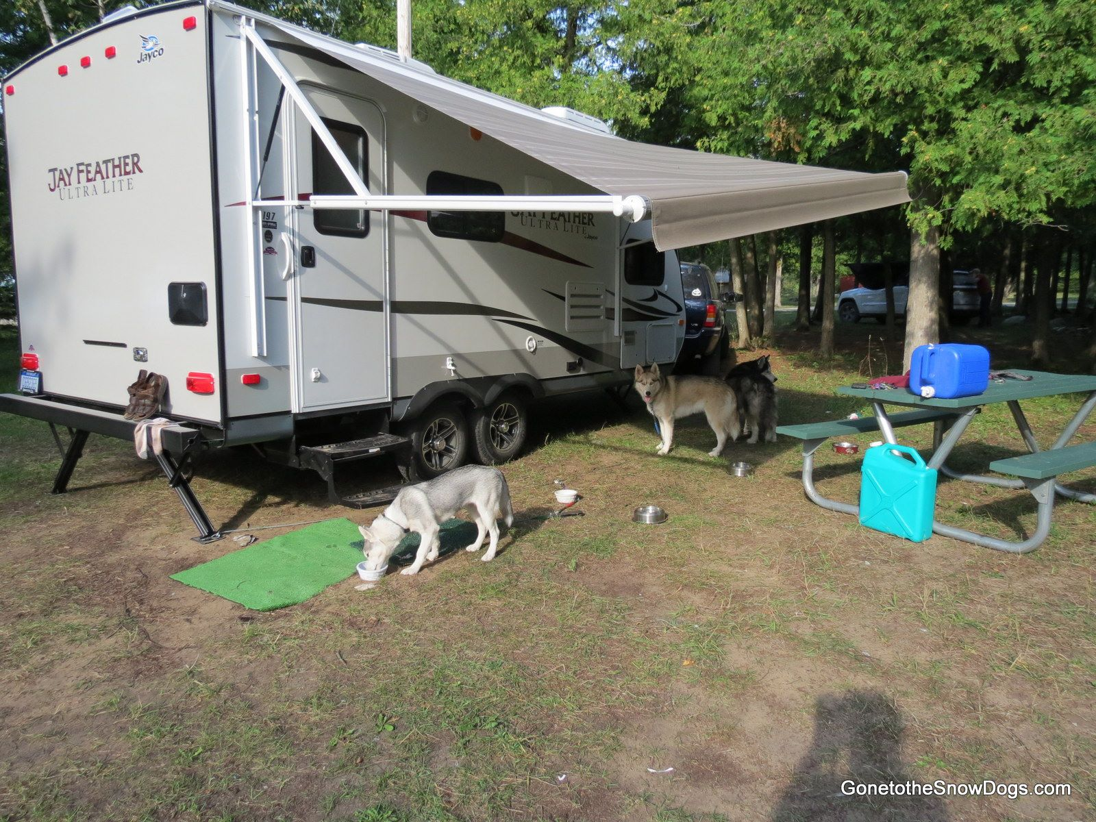 Our Girls camping