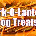 BARK O' LANTERN DOG TREATS for Halloween