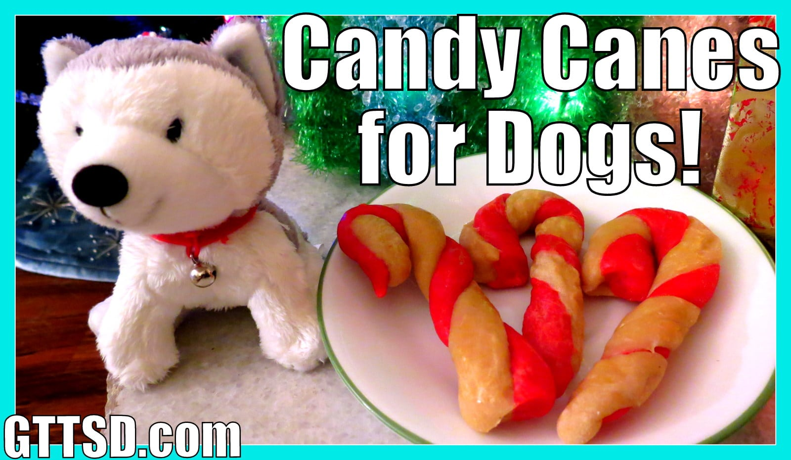 Candy Canes for Dogs