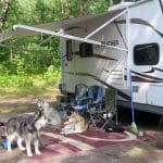 Go RVing with your Dogs! Experience Michigan's Upper Peninsula