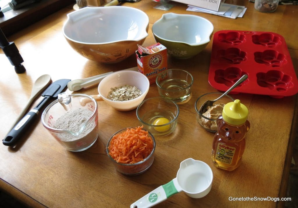 Ingredients for Pupcakes