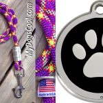 DOG LEASH AND TAG GIVEAWAY