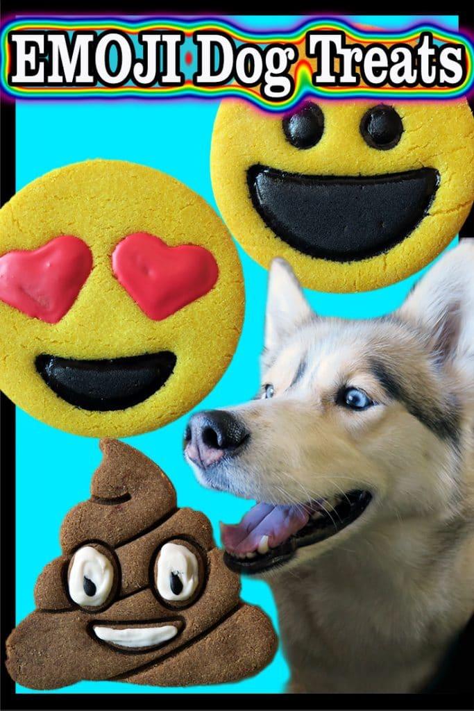 DIY Emoji Dog Treats