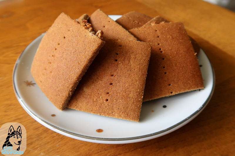 DIY Graham Crackers for Dogs