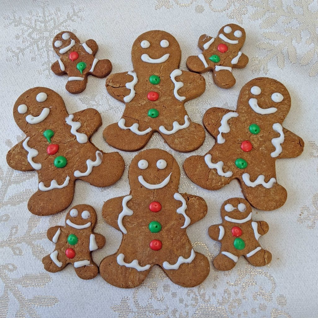 Gingerbread Cookies for Dogs